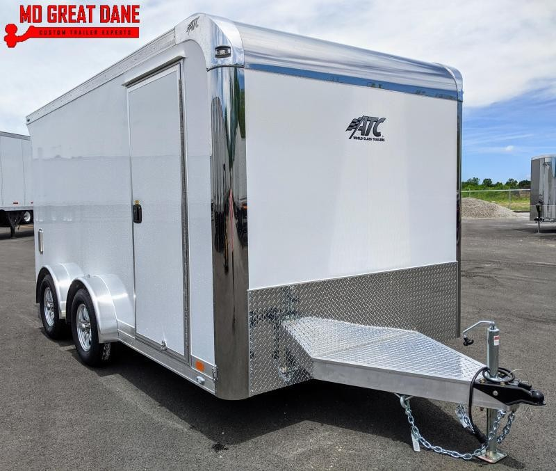 2021 ATC QUEST 7.5 x 14 MC300 Aluminum Motorcycle Trailer EXPECTED COMPLETION 1/16