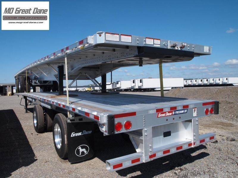 2022 Great Dane 53' FXP FLATBED Flat Bed Aluminum Semi Trailer