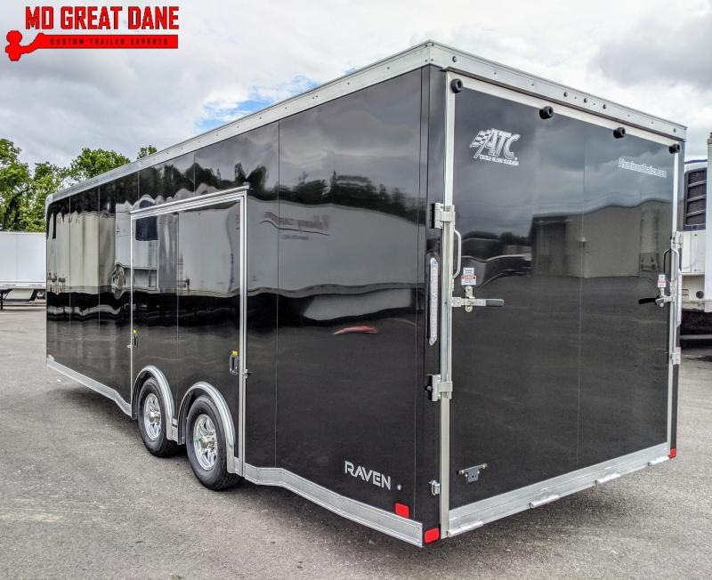 2021 ATC RAVEN 8.5 x 24 Aluminum Car / Racing Trailer EXPECTED COMPLETION FEBRUARY