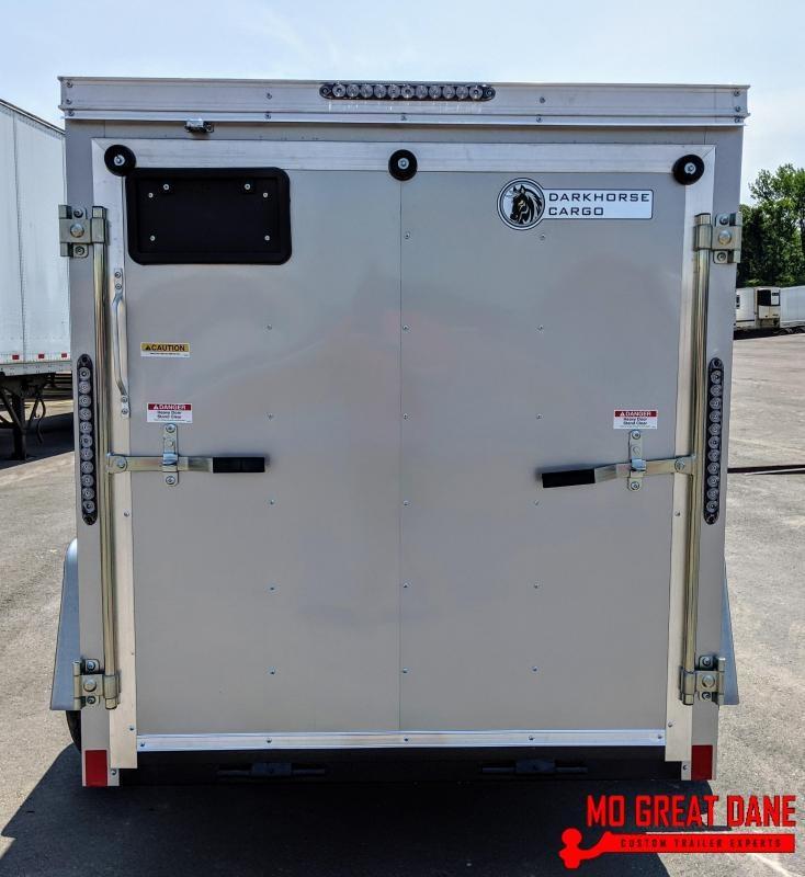2020 Darkhorse Cargo 5 x 8 V-Nose Enclosed Cargo Trailer