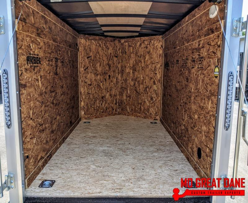 2021 Darkhorse Cargo 5 x 8 V-Nose Enclosed Cargo Trailer