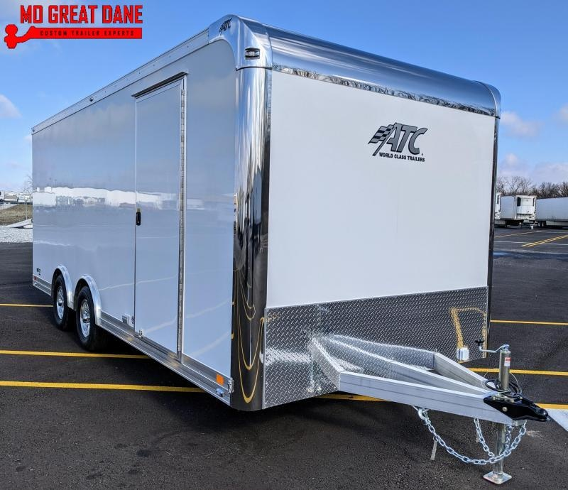 2021 ATC QUEST 8.5 x 20 205CH Aluminum Car / Racing Trailer EXP COMPLETION SEPTEMBER