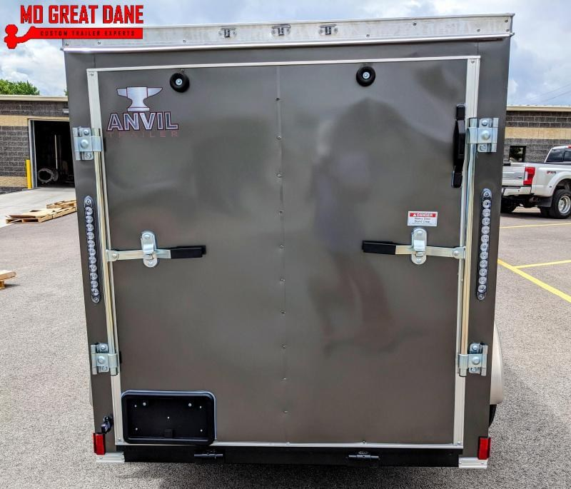 2021 Anvil AT5X8SA Enclosed Cargo Trailer
