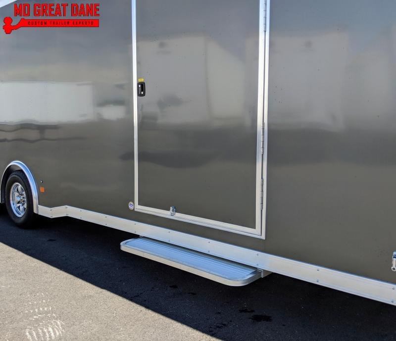 2021 ATC RAVEN 8.5 x 28 Aluminum Car / Racing Trailer