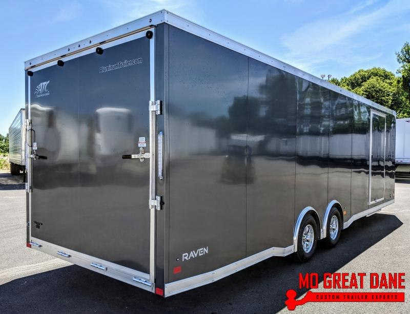 2021 ATC RAVEN 8.5 x 28 Aluminum Car / Racing Trailer
