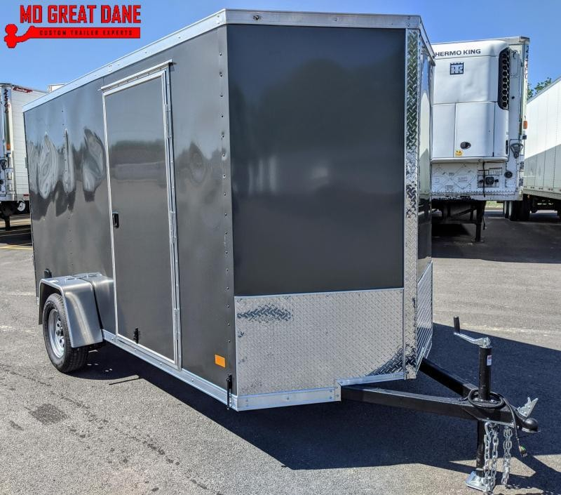 2021 Darkhorse Cargo 6 x 12 V Nose 78 Interior Enclosed Cargo Trailer