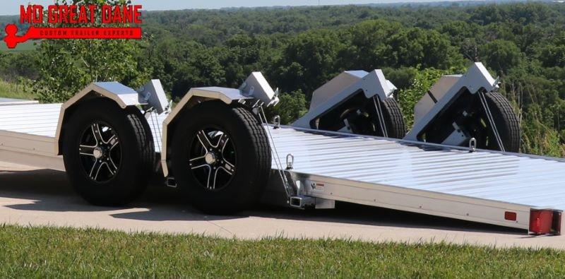 2022 TIMPTE 0720LSEZ Aluminum Open Car / Racing Trailer