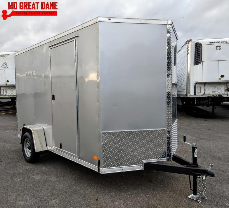 "2020 Darkhorse Cargo 6.5 x 12 V-Nose 78"" Interior Enclosed Cargo Trailer"