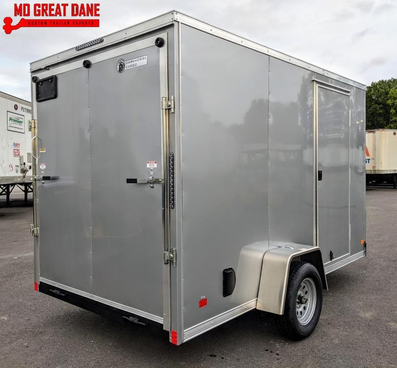 "2020 Darkhorse Cargo 6.5 x 12 V-Nose 84"" Interior Enclosed Cargo Trailer"