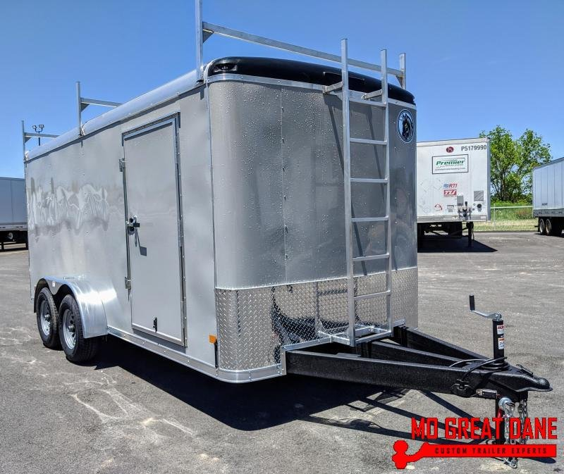 2020 Darkhorse Cargo DHR 7 x 16 Enclosed Cargo Trailer (9990 GVWR)