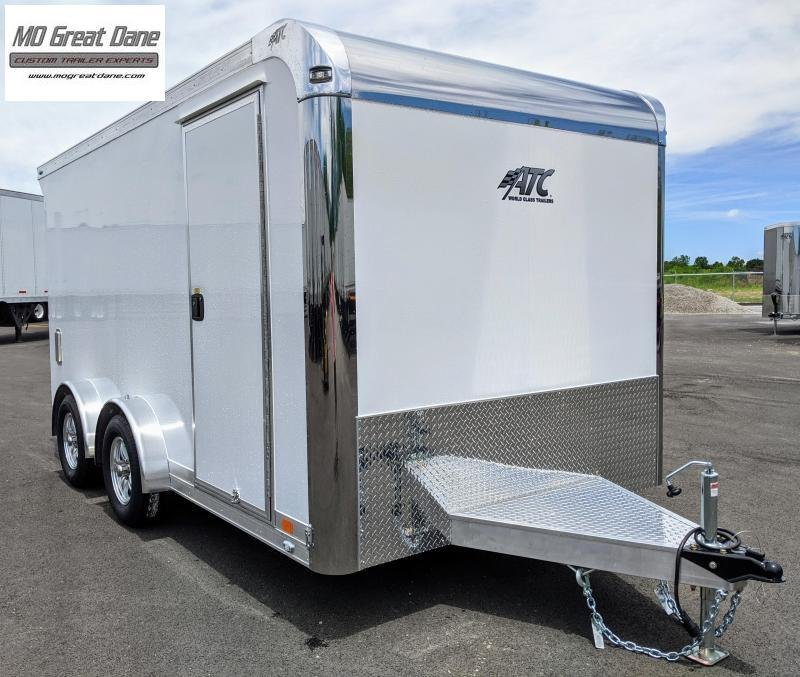 2022 ATC QUEST 7.5 x 14 MC300 Aluminum Motorcycle Trailer EXP COMPLETION OCTOBER