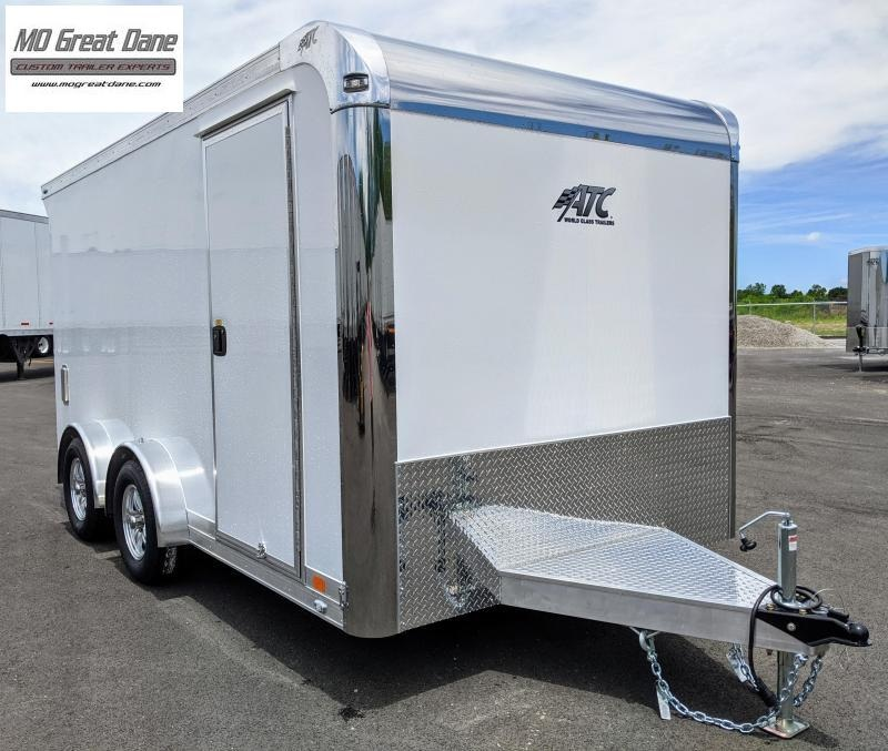 2022 ATC QUEST 7.5 x 14 MC300 Aluminum Motorcycle Trailer EXP COMPLETION SEPTEMBER
