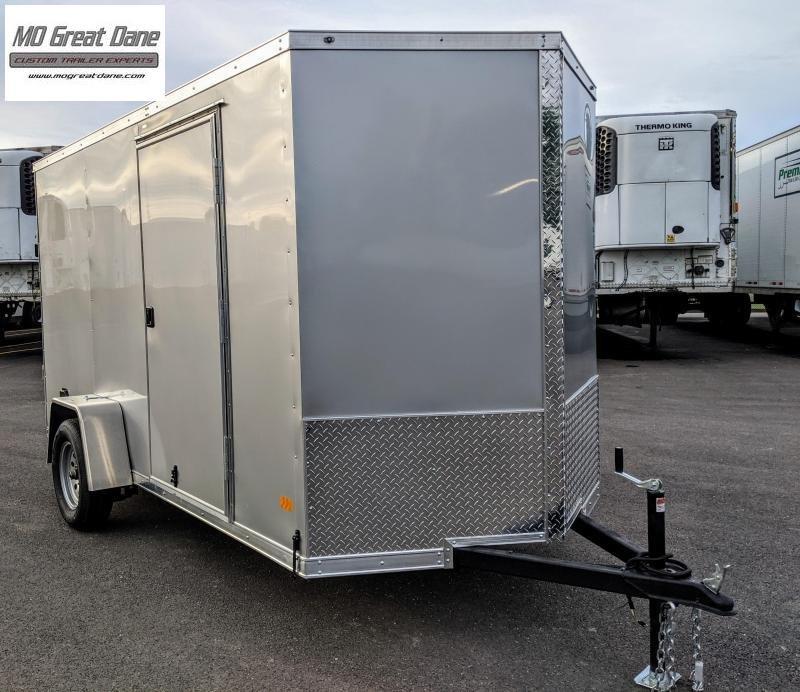2022 Darkhorse Cargo 6 x 12 V Nose 78 Interior Enclosed Cargo Trailer