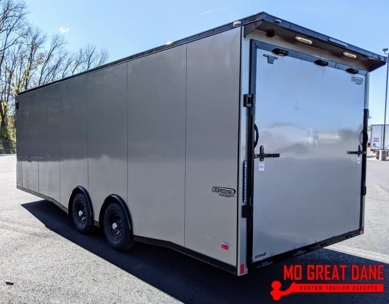 2021 Bravo 8.5 x 24 Scout Car / Racing Trailer