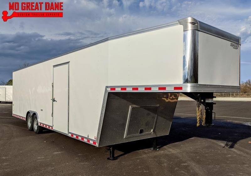 2021 Bravo Trailers Star Gooseneck 8 5 x 32 Cargo Enclosed Trailer EXPECTED COMPLETION AUGUST