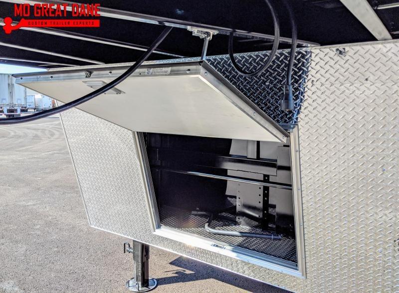 2021 Bravo Trailers Star Gooseneck 8 5 x 36 Cargo Enclosed Trailer
