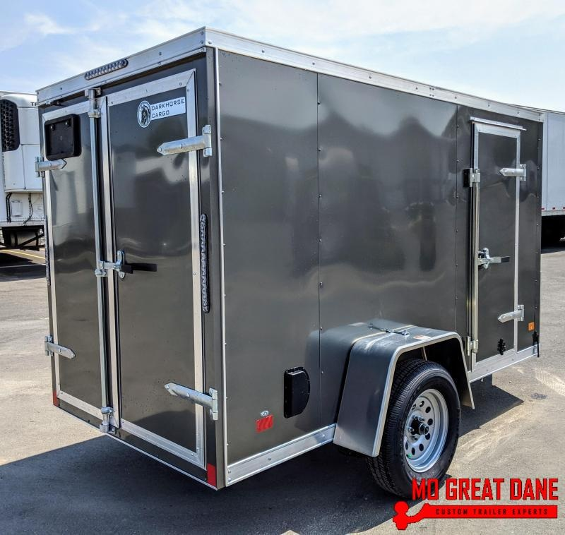 2020 Darkhorse Cargo 5 x 10 V-Nose Enclosed Cargo Trailer