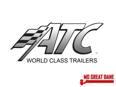 2021 ATC QUEST 8.5 x 24 405CH Aluminum Car / Racing Trailer
