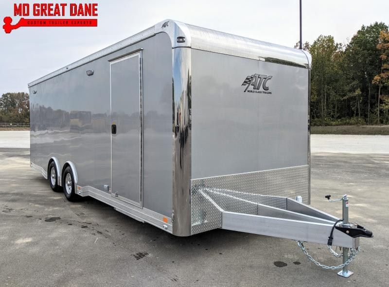 2021 ATC QUEST 8 5 x 24 CH405 Aluminum Car Racing Trailer