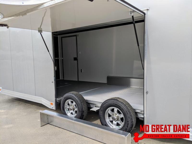 2021 ATC QUEST 8 5 x 24 CH405 Aluminum Car Racing Trailer