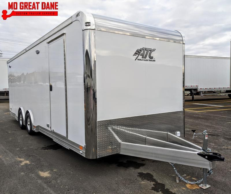 2021 ATC QUEST 8.5 x 24 CH405 Aluminum Car / Racing Trailer EXP COMPLETION MARCH