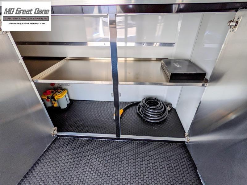2022 ATC 8.5 x 24 Quest Limited Aluminum Car / Racing Trailer EXP COMPLETION OCTOBER