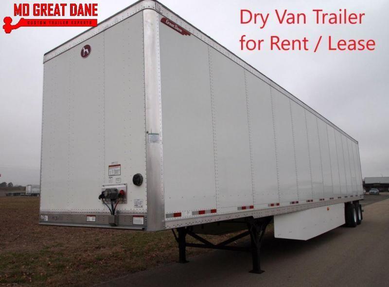 2022 Great Dane Composite Plate Trailer Dry Van RENT OR LEASE
