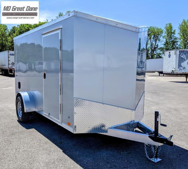 2022 ATC 6 x 12 Raven Aluminum Enclosed Cargo Trailer