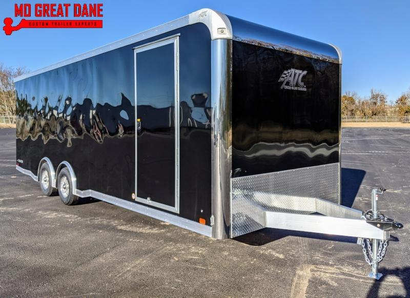 2021 ATC RAVEN 8.5 x 24 Aluminum Car / Racing Trailer EXP COMPLETION MAY