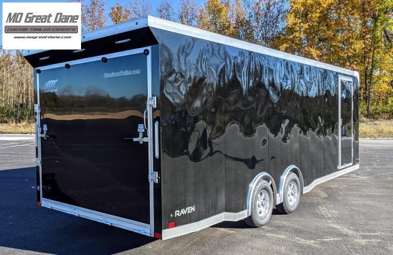 2021 ATC Raven 8.5 x 24 Aluminum Car / Racing Trailer