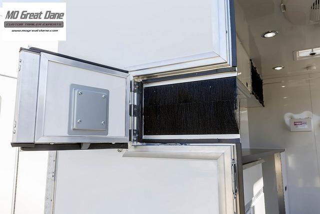 2021 ATC QUEST 7 X 12 Aluminum Fiber Optic Splicing Trailer