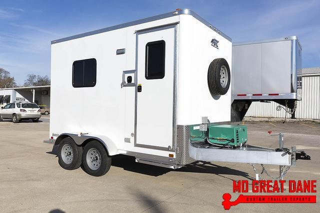 2021 ATC QUEST 7 X 12 Fiber Optic Splicing Trailer