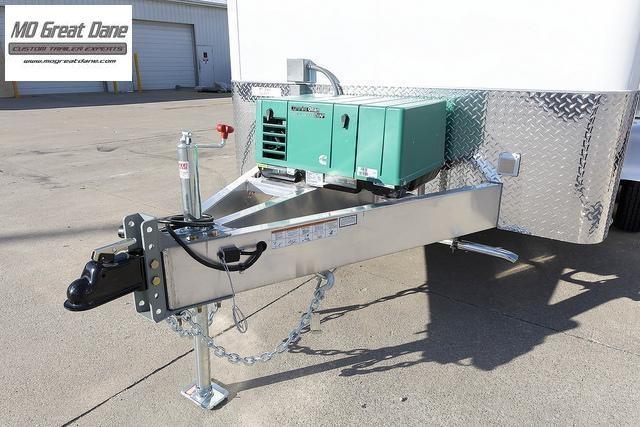 2022 ATC QUEST 7 X 12 Aluminum Fiber Optic Splicing Trailer