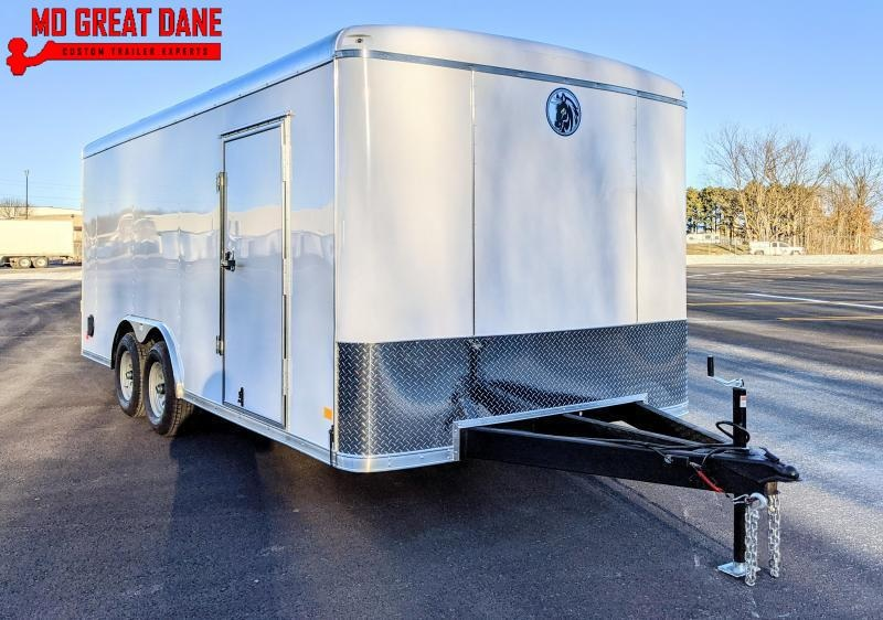 2021 Darkhorse Cargo DHR 8.5 x 18 Enclosed Cargo Trailer