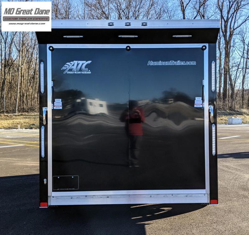 2022 ATC QUEST 7.5 x 14 MC300 Aluminum Motorcycle Trailer