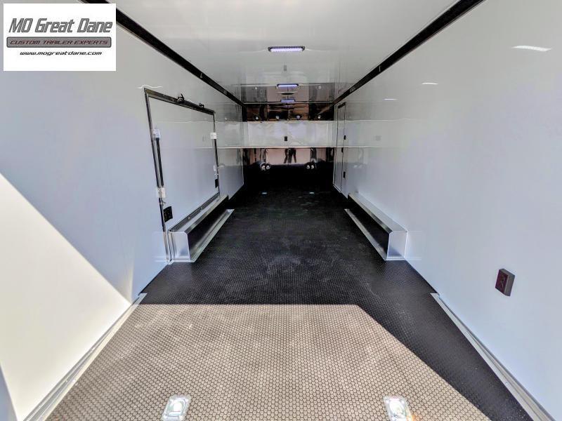 2022 ATC 8.5 x 24 Quest Limited Aluminum Car / Racing Trailer EXP COMPLETION SEPTEMBER - Black