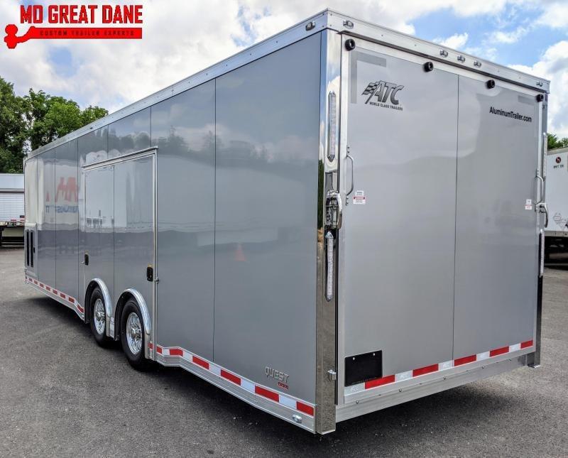 2021 ATC QUEST 8.5 x 28 CH305 Aluminum Car / Racing Trailer