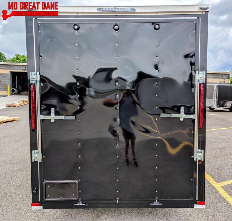 2021 Lark 6x12SA Enclosed Cargo Trailer