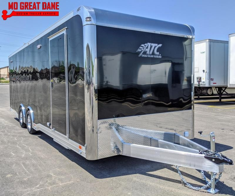 2021 ATC QUEST 8.5 x 24 CH305 Aluminum Car / Racing Trailer EXTRUDED ALUMINUM FLOOR EXP COMPLETION JULY