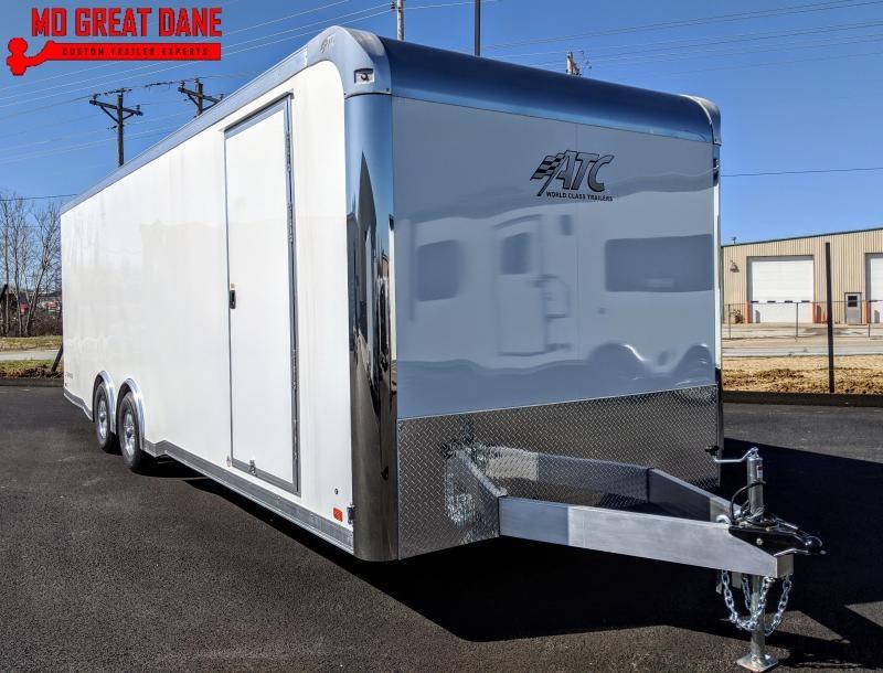 2021 ATC RAVEN 8.5 x 24 Aluminum Car / Racing Trailer EXPECTED COMPLETION OCTOBER