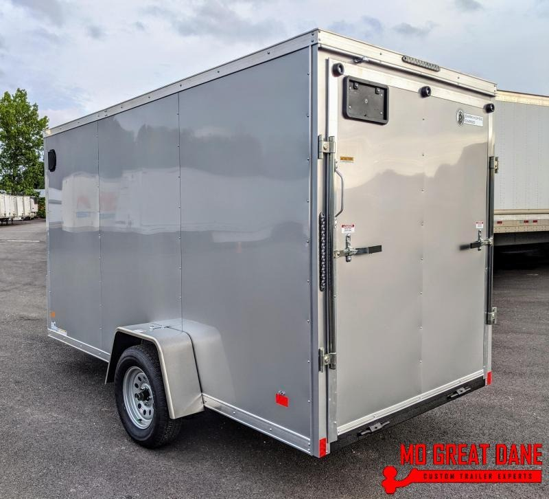 "2021 Darkhorse Cargo 6 x 12 V-Nose 78"" Interior Enclosed Cargo Trailer"
