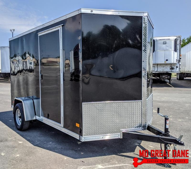 2020 Darkhorse Cargo 6.5 x 12 V-Nose Enclosed Cargo Trailer