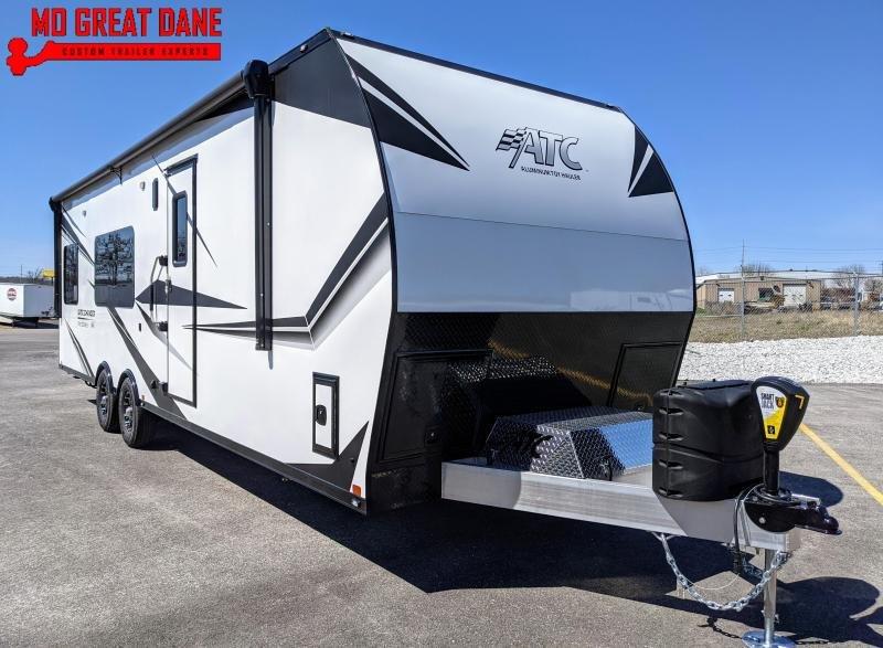 2021 ATC (2917) Pro Series Front Bedroom Aluminum Toy Hauler RV
