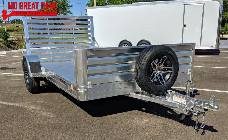 2022 Hillsboro Industries AU78x12 Aluminum Open Utility Trailer