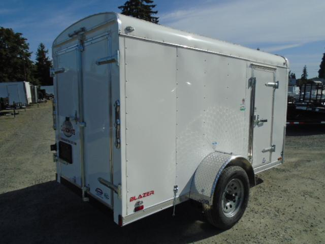 2021 Cargo Mate 5X10 Blazer w/Extra Height/Cargo Doors