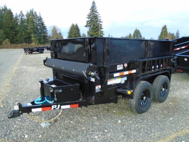 2021 PJ 5x10 Dump 7K With Side Extension Kit/Tarp Kit