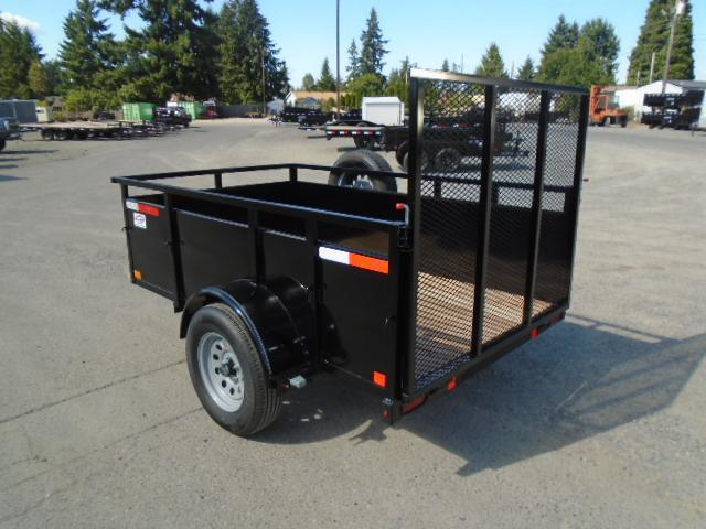 2021 Eagle Falcon 5x8 With Swing Jack / D-Rings / Spare Tire & Mount