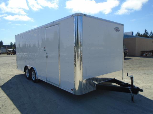 2021 Cargo Mate E-Series  8.5X20 7K w/Rear Ramp Door