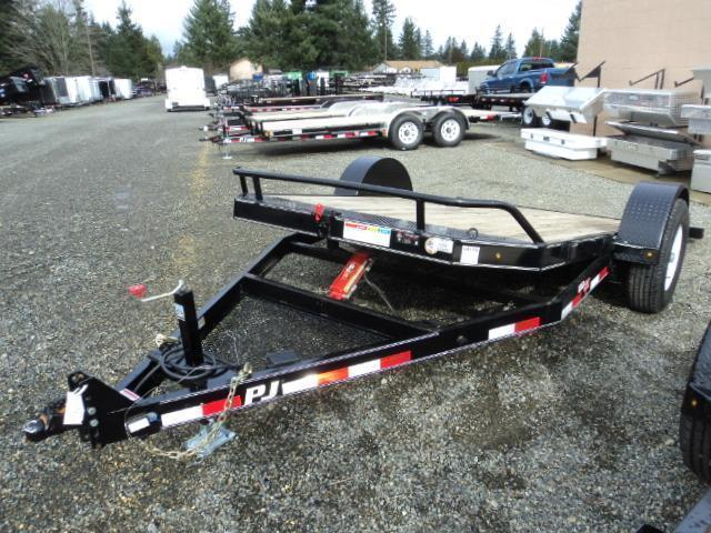 2021 PJ Trailers 13' Single Axle 7K HD Tilt Trailer