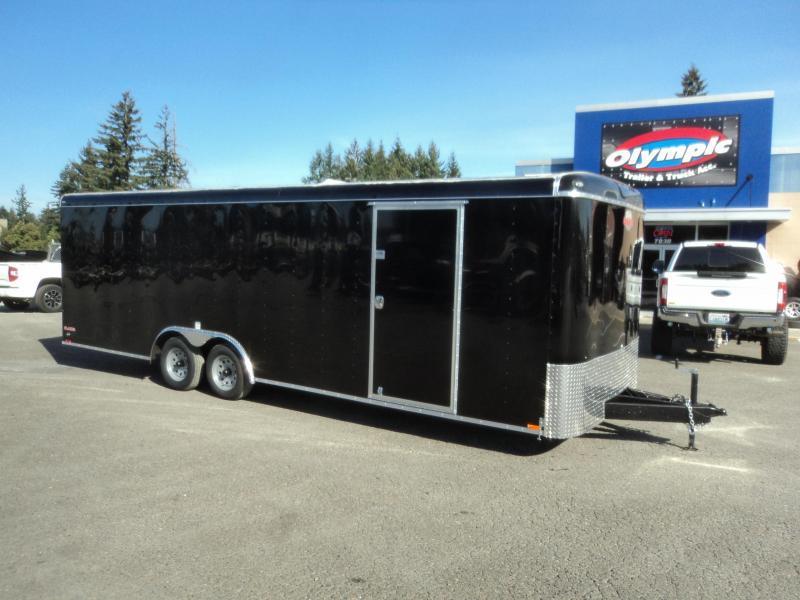 2021 Cargo Mate Blazer 8.5X24 7K w/Rear Ramp Door/D-Rings